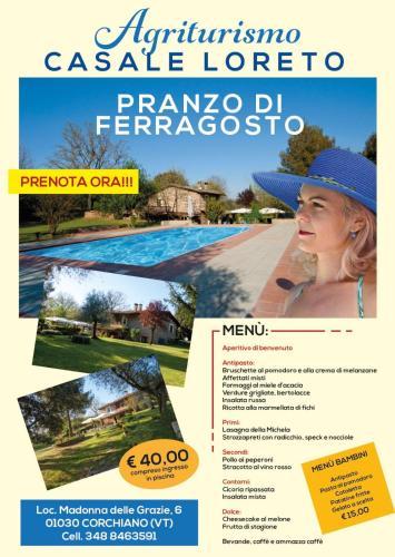 Casale Loreto, Viterbo