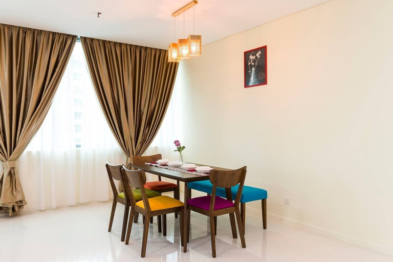 Bright 2BR Condo for 5 W/kl City View, Kuala Lumpur