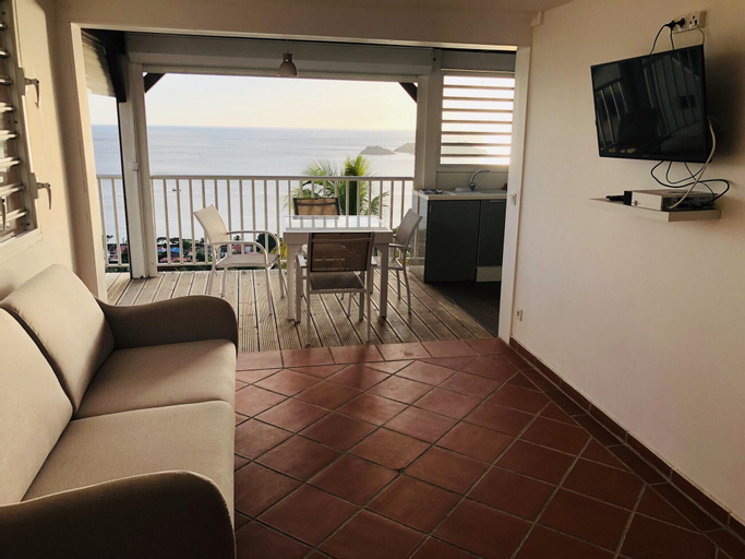 House With 2 Bedrooms in Bouillante, With Furnished Terrace and Wifi - 500 m From the Beach, Bouillante