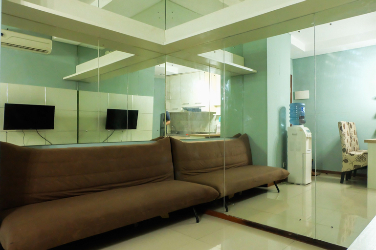 1 BR Thamrin Residence City View By Travelio, Central Jakarta