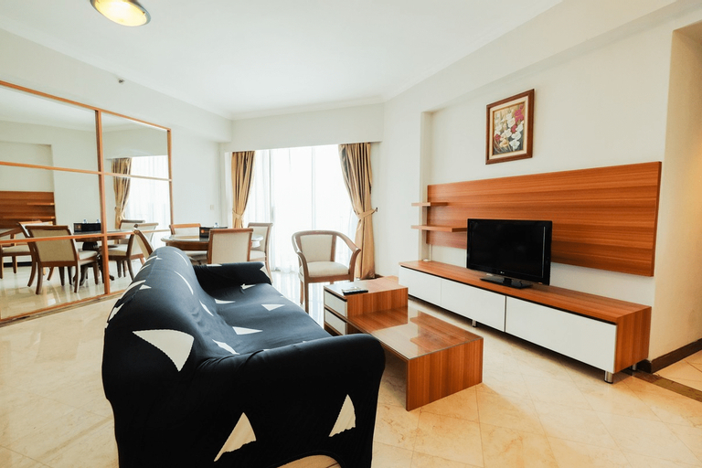 Clean and Tidy 2BR at Puri Casablanca Apartment By Travelio, Jakarta Selatan
