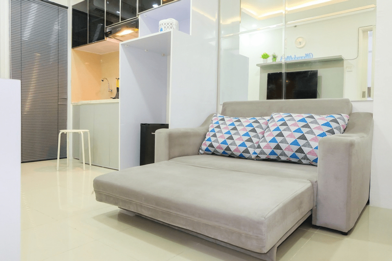 2BR for 5 Pax Bassura Apartment Next to Mall By Travelio, East Jakarta