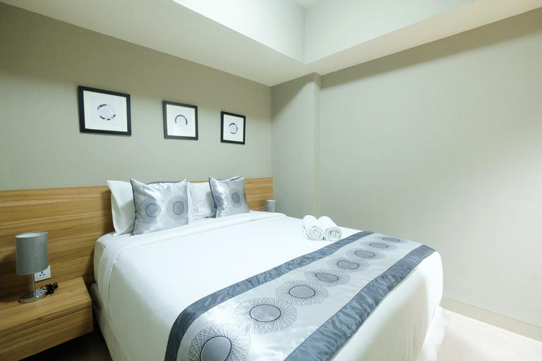 Modern and Good 2BR Mustika Golf Apartment By Travelio, Cikarang