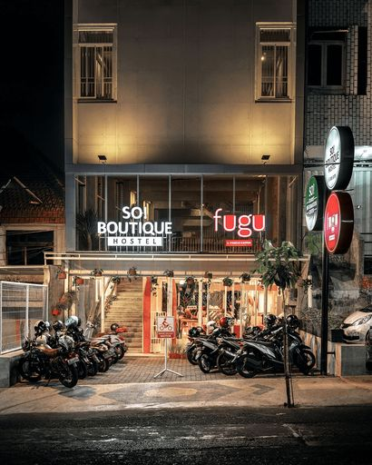 SO Boutique Hostel, Malang