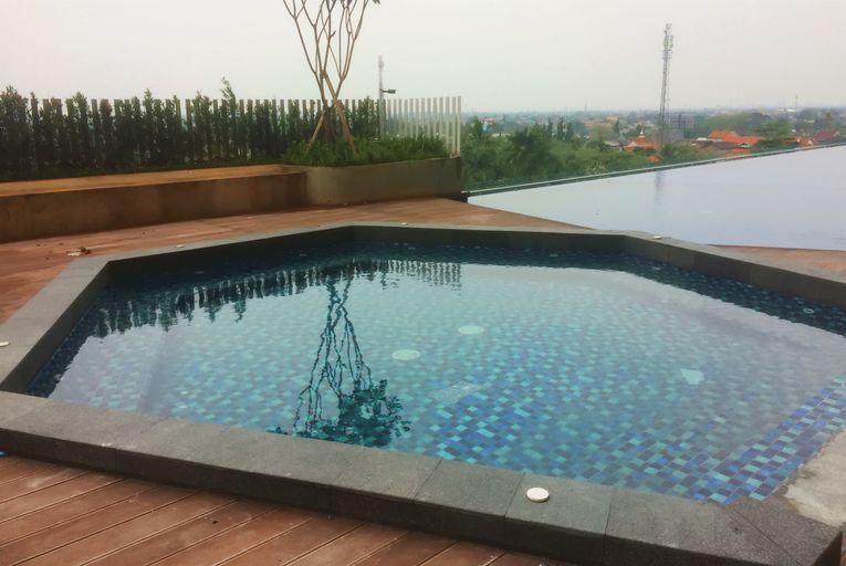 Best Modern Studio Springwood Residence Apartment By Travelio, Tangerang
