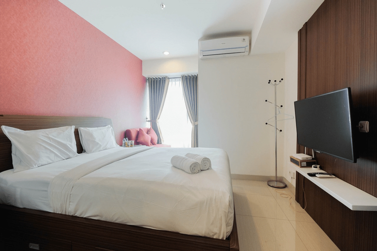 Cozy Studio Apartment at Grand Kamala Lagoon By Travelio, Bekasi