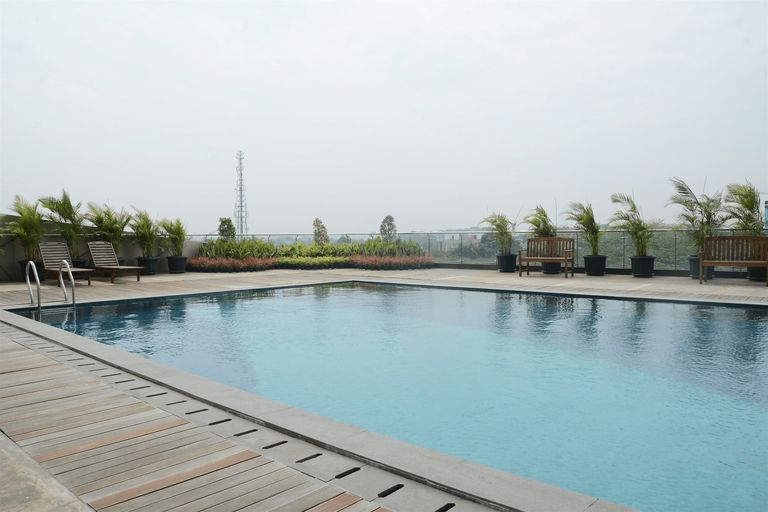Cozy Studio Tree Park Apartment near ICE BSD By Travelio, Tangerang Selatan