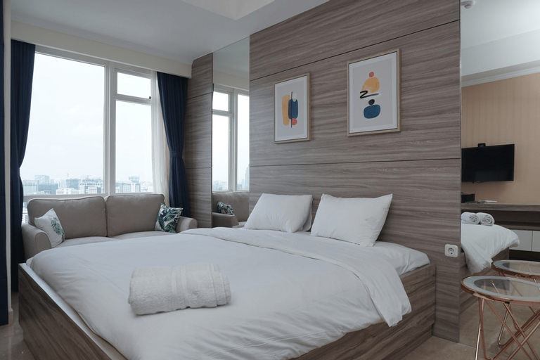 Cozy and Tranquil Studio Menteng Park Apartment By Travelio, Jakarta Pusat