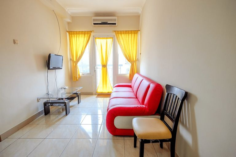 Simple in Style 2 BR Grand Palace Kemayoran Apartment By Travelio, Jakarta Pusat