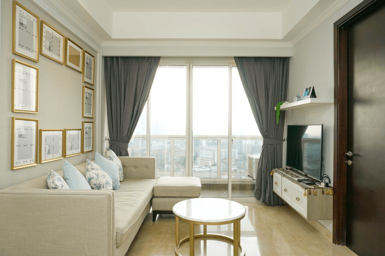 Luxurious 2BR with Private Lift at Menteng Park Apartment By Travelio, Central Jakarta