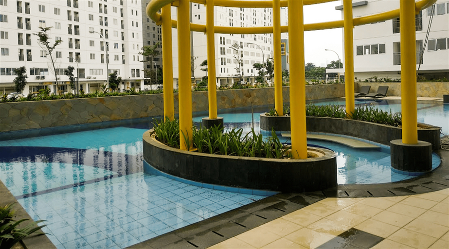 2BR Bassura City Apartment Connect to Swimming Pool By Travelio, East Jakarta