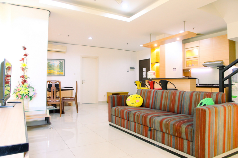 Very Spacious 3BR at Sunter Park View Apartment By Travelio, North Jakarta