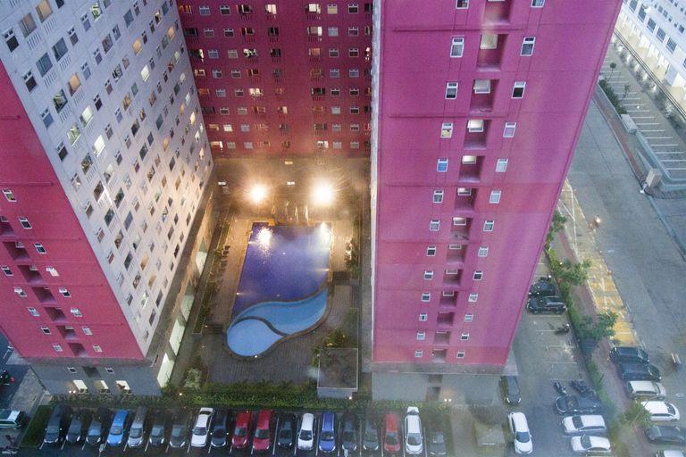2 BR Apartment Green Pramuka City By Travelio, Central Jakarta