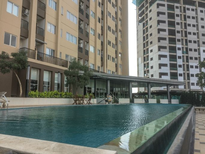 Best Price 1BR Apartment @ The Oasis By Travelio, Cikarang