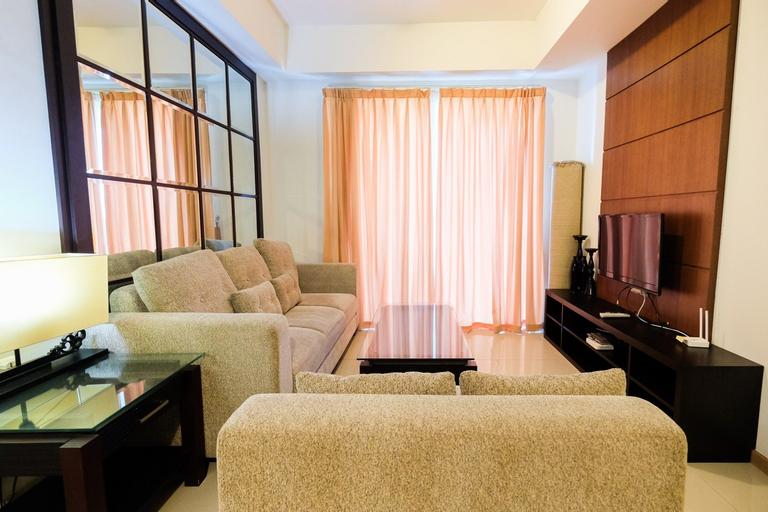 Homey 2BR Apartment @ Casa Grande Residence By Travelio, South Jakarta