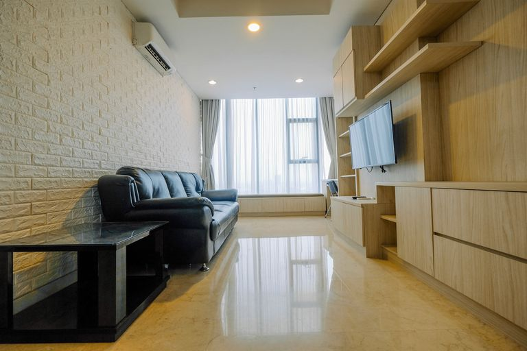 Spacious Cozy and Relax 2BR at L'Avenue Apartment By Travelio, South Jakarta