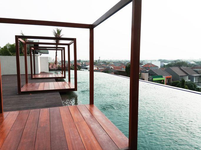 Fabulous Studio Grand Kamala Lagoon Apartment By Travelio, Bekasi