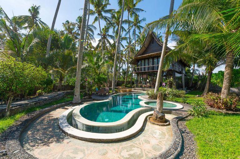 Most Exotic Beachfront Villa Keong, Tabanan