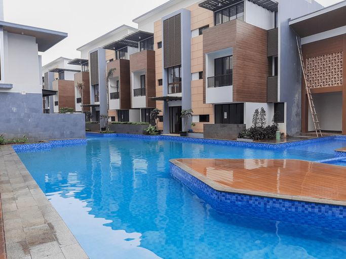 Homey 1BR at Assati Garden House Apartment By Travelio, Tangerang