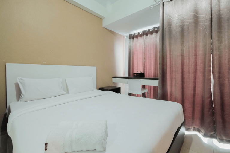 Simply Furnished Studio @ Grand Dhika City Apartment By Travelio, Bekasi