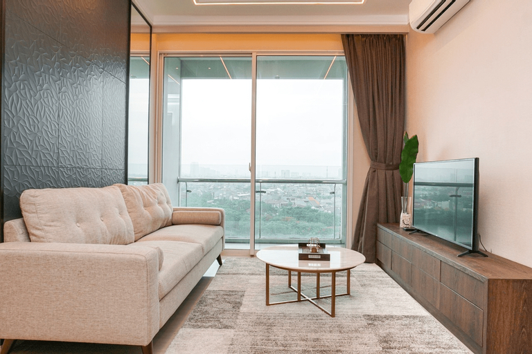 Minimalist and Cozy 2BR Citralake Suites Apartment By Travelio, Jakarta Barat