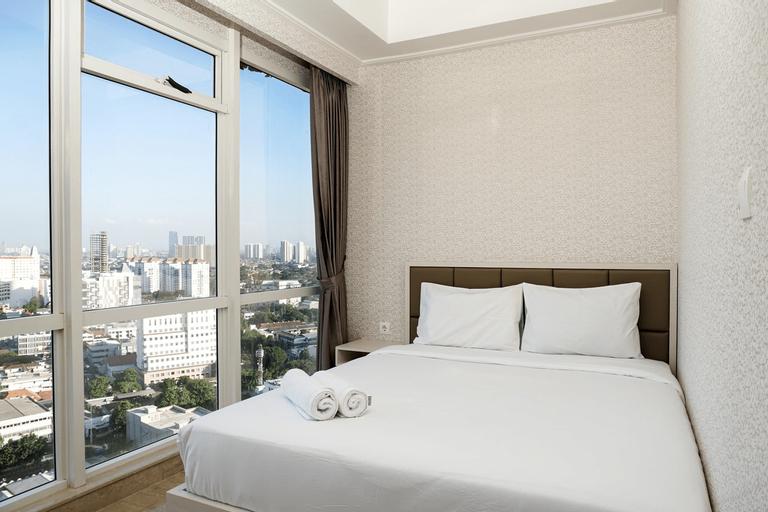 2BR Menteng Park Apartment near Jakarta CBD By Travelio, Jakarta Pusat