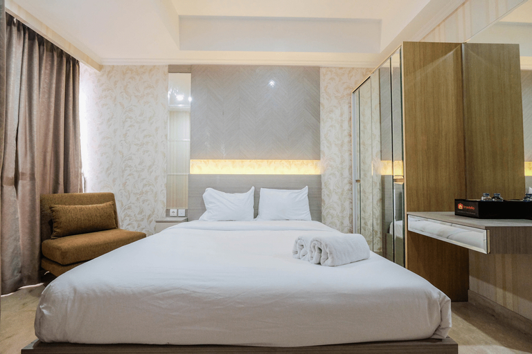 Cozy Studio Room Apartment Menteng Park By Travelio, Jakarta Pusat