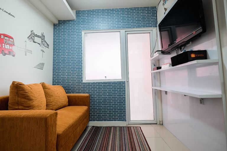 Comfort 2BR with Pool View Green Pramuka City Apartment By Travelio, Central Jakarta