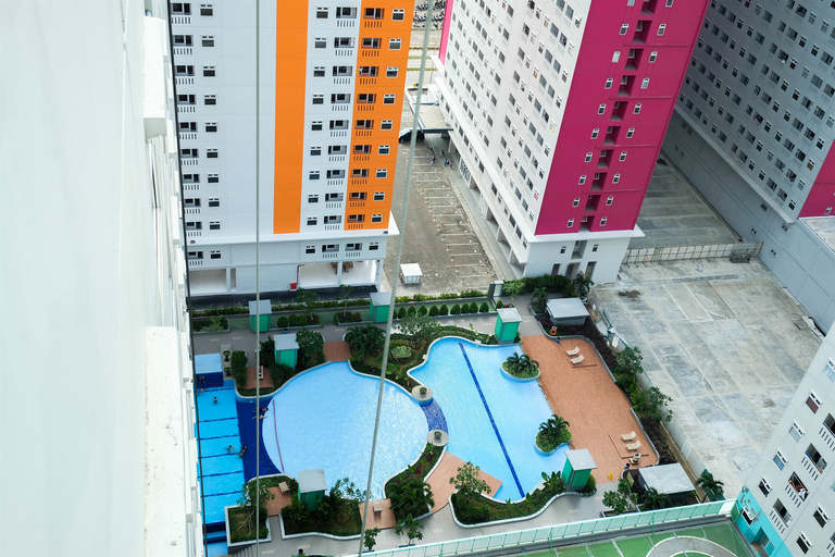 2BR Green Pramuka City Apartment Direct Access to Mall By Travelio, Central Jakarta