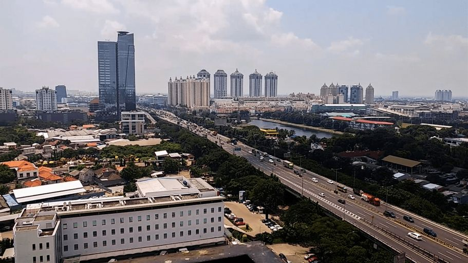 Studio Sunter Park View Apartment Near Mall Of Indonesia Kelapa Gading By Travelio, Jakarta Utara