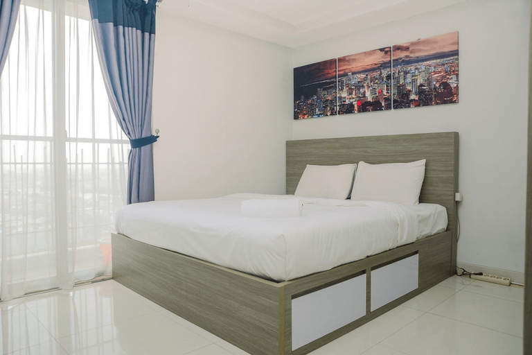 1BR at The Mansion Kemayoran Apartment with Sea View By Travelio, North Jakarta