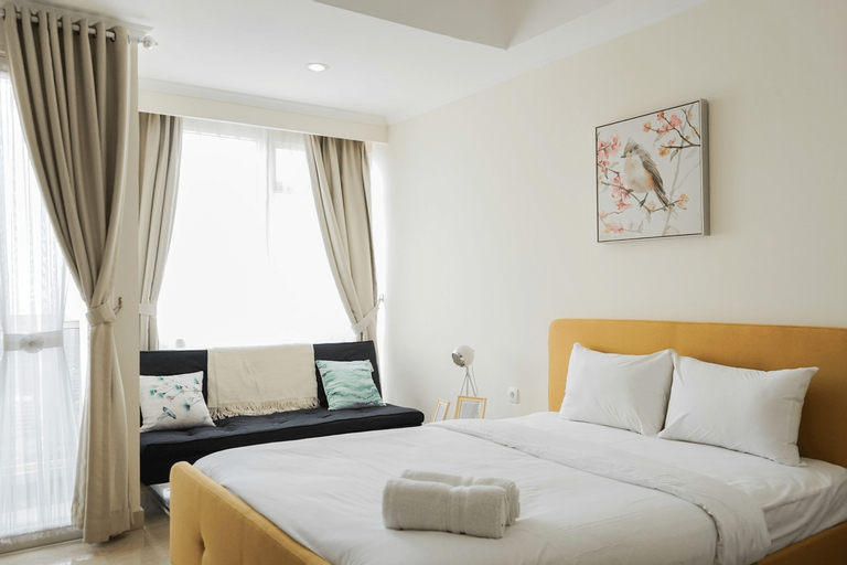 New Furnished and Exclusive Studio at Menteng Park Apartment By Travelio, Jakarta Pusat