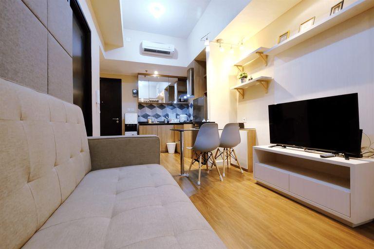 Brand New 1BR Casa De Parco Apartment By Travelio, Tangerang Selatan