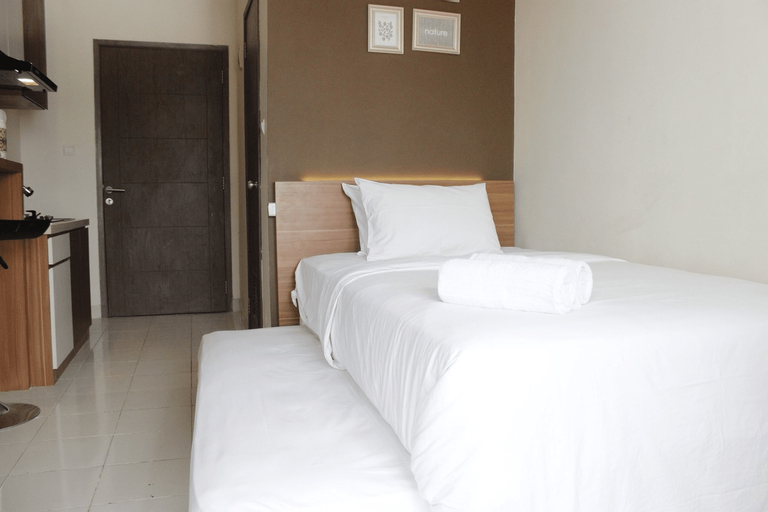 Relaxing Studio Apartment at Easton Park Residence Jatinangor By Travelio, Sumedang