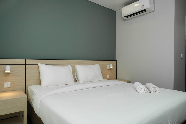 1BR with Study Room Apartment at Gallery West Residence By Travelio, Jakarta Barat