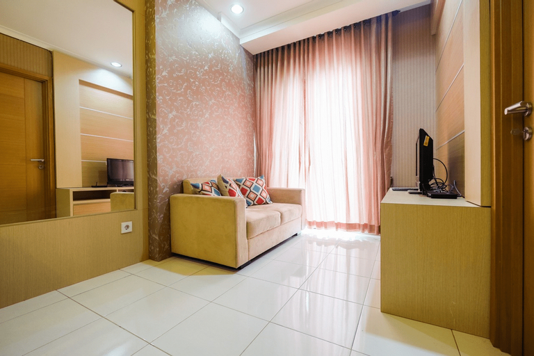 Comfortable 2BR at Signature Park Tebet Apartment By Travelio, South Jakarta