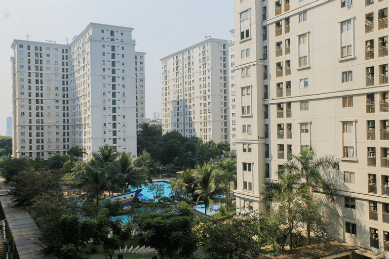 Contemporary 2BR at Green Palace Kalibata City Apartment By Travelio, South Jakarta