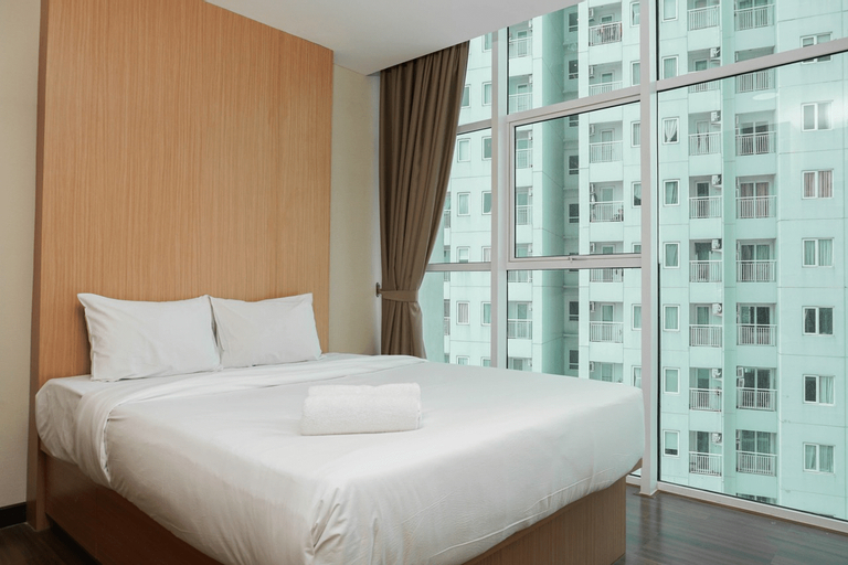 Deluxe 2BR Apartment at Satu8 Residence By Travelio, West Jakarta