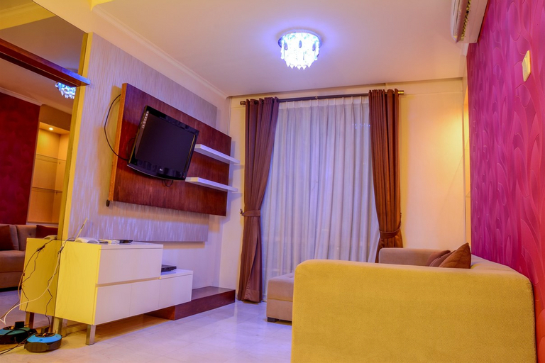 Modern 2 BR Apartment @ FX Residence with City View By Travelio, Central Jakarta