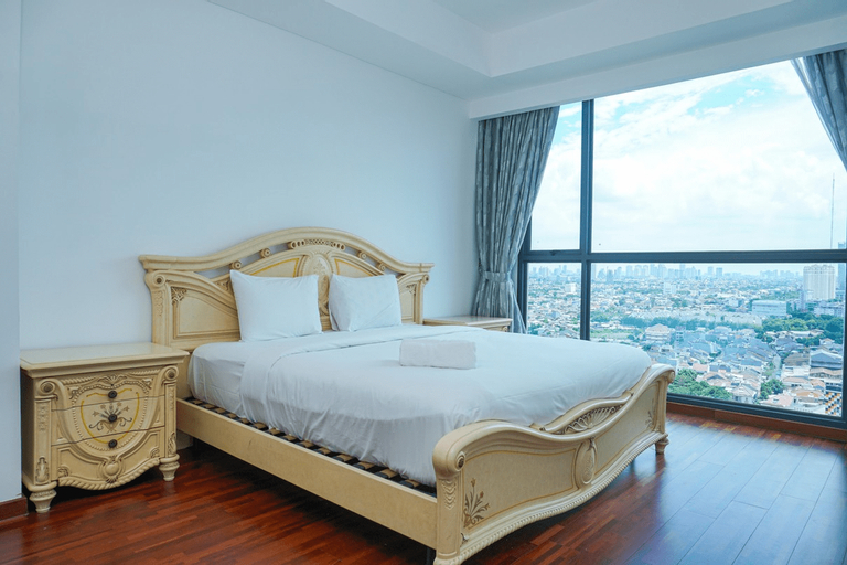 Spacious 2BR Apartment at Wang Residence By Travelio, Jakarta Barat