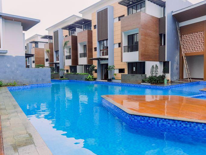 Cozy and Minimalist 1BR Asatti Apartment By Travelio, Tangerang