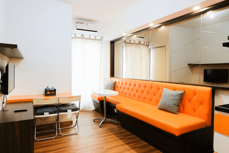 Fully Furnished 2BR Apartment at M-Town Residence By Travelio, Tangerang