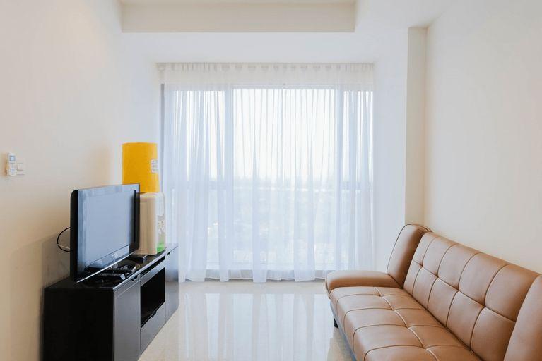 Comfy and Elegant 1BR Branz BSD Apartment By Travelio, South Tangerang