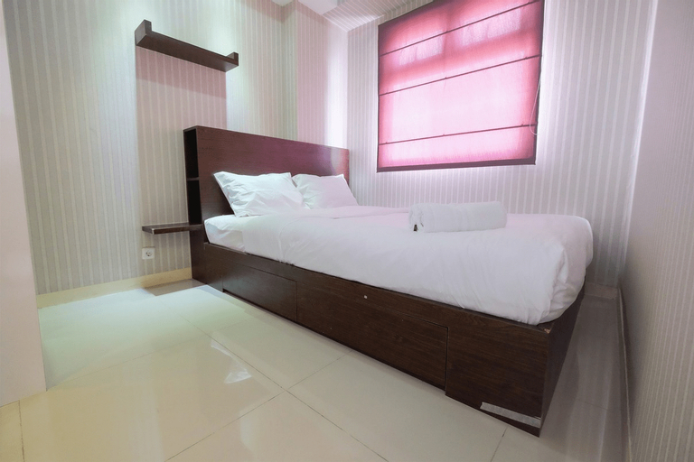 Homey and Relaxing 2BR Green Pramuka Apartment By Travelio, Central Jakarta