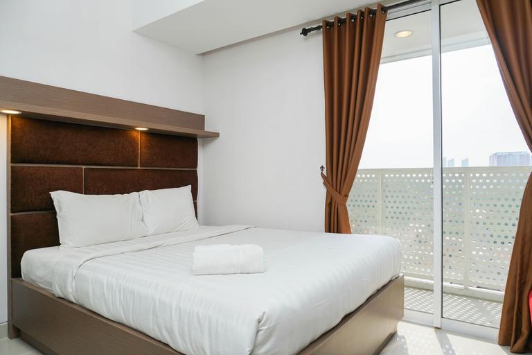 New Furnished Studio West Vista Apartment near Puri Indah By Travelio, Jakarta Barat