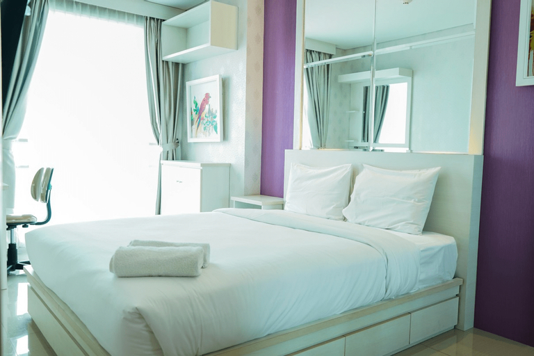 City View 1BR Apartment at Woodland Park Residence By Travelio, Jakarta Selatan
