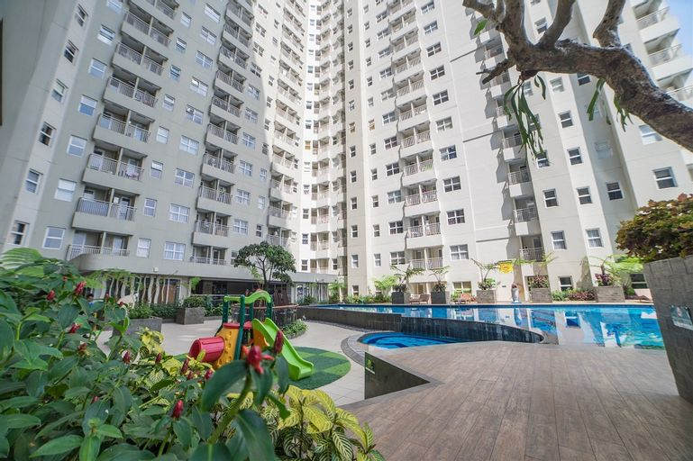 Pleasant 2BR Apartment at Parahyangan Residence By Travelio, Bandung