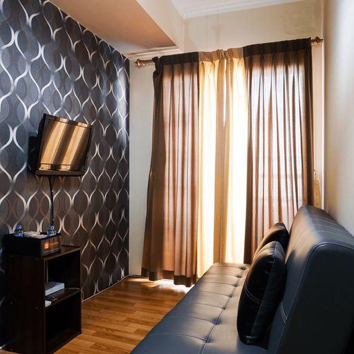 Compact 1BR Apartment at Mediterania Marina Residences By Travelio, North Jakarta