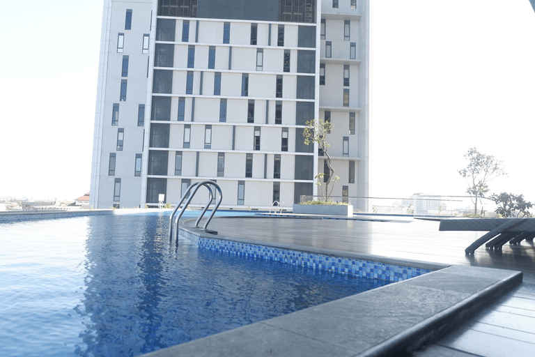 2BR Apartment near Marvell City Mall at The Linden by Travelio, Surabaya