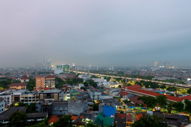 Minimalist Studio with City View at Green Pramuka Apartment By Travelio, Central Jakarta